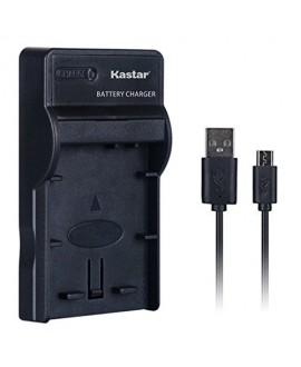 Kastar Slim USB Charger for Sony NP-FH50, NPFH50, NP-FH30, NP-FH40 and Sony CyberShot DSC-HX1 DSC-HX100V DSC-HX200V, DSLR Alpha 230 A230 A330 A380 A390, HDR-TG1E TG3 TG5 TG7