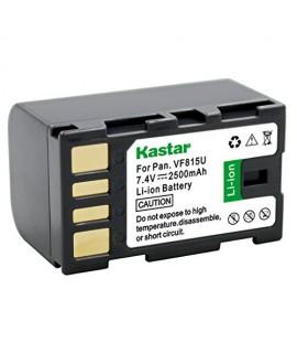 Kastar Battery (1-Pack) for JVC BN-VF815, BN-VF815U work with JVC Everio GS-TD1, GY-HM70U, GY-HM100U, GY-HM150U, GZ-HMZ1U, GZ-MG230, GZ-MG255, GZ-MG275, GZ-MG330, GZ-MG335, GZ-MG340, GZ-MG360, GZ-MG365, GZ-MG430, GZ-MG435, GZ-MG465, GZ-MG555, GZ-MG575, GZ