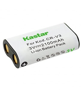 Kastar Battery (1-Pack) for CR-V3 and Canon PowerShot A60,70,75,300, Nikon Coolpix 600,700,800,950,990,2100,2200,3100,3200, Olympus, Pentax ,Kodark, Sanyo, Pentax Digibino, Casion, Samsung Dig Max