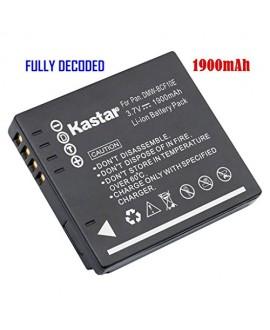 Kastar Battery (1-Pack) for Panasonic DMW-BCF10 DMW-BCF10PP A59 & Lumix DMC-FS12 FS15 FS25 FS4 FS42 FS6 FS7 FX40 FX48 FX500 FX550 FX580 F2 F3 FH1 FH20 FH22 FH3 FT3 FT4 FX68 FX700 FX75 TS1 TS2 TS3 TS4