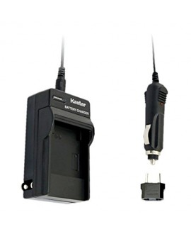 Kastar Trave Charger Kit for Canon BP-911, BP-911K, BP-914, BP-915 and Canon ES6500V, ES7000es, ES7000V, ES8000V, ES8100V, ES8200V, ES8400V, ES8600 Camera