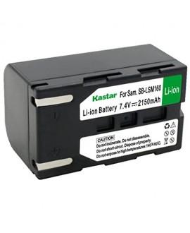 Kastar SB-LSM160 Battery (1-Pack) for Samsung SB-LSM80, SB-LSM160, SB-LSM320 and Samsung SC-D351 VP-D351 VP-D352 VP-D352i VP-D353 VP-D353i VP-D354 VP-D354i VP-D647 VP-D651 VP-D653 VP-DC161 VP-DC163