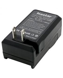 Kastar Travel Charger for BN-VM200 BN-VM200U work with JVC GZ-MC100 GZ-MC200 GZ-MC500 GZ-MC100EK GZ-MC200E GZ-MC500EK GZ-MC100EX GZ-MC200EX GZ-MC500EX GZ-MC100US GZ-MC200US GZ-MC500US Cameras