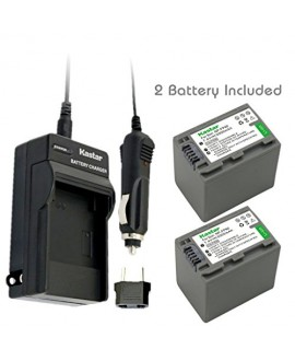 Kastar Battery (2-Pack) and Charger Kit for Sony NP-FP90, NP-FP91 work with Sony DCR-30, DVD92, DVD103, DVD105, DVD202, DVD203, DVD205, DVD304, DVD305, DVD403, DVD404, DVD405, DVD505, DVD602, DVD605, DVD653, DVD703, DVD705, DVD755, DVD803, DVD805, DVD905,