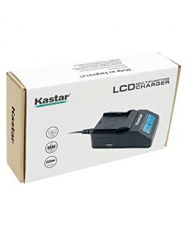 Kastar Ultra Fast Charger Kit for Sony NP-FV100, DCR-SR21, SR68, SR88, SX15, SX21, SX44, SX45, SX63, SX65, SX83, SX85, HDR-CX110, CX115, CX130, CX150, CX160, XR160, CX360, CX560, CX700, PJ30, PJ50
