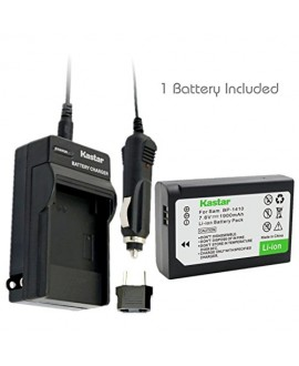 Kastar BP-1410 Battery (1-Pack) and Charger Kit for Samsung BP1410 and NX30 WB2200F Digital Cameras