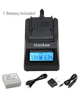 Kastar Ultra Fast Charger(3X faster) Kit and Battery (1-Pack) for Samsung IA-BP85NF, IA-BP85ST work with Samsung HMX-H100, HMX-H104, HMX-H105, HMX-H106, SC-HMX10, SC-HMX20C, SC-MX10, SC-MX20, SMX-F30, SMX-F33, SMX-F34, VP-HMX08, VP-HMX10, VP-HMX10C, VP-HM