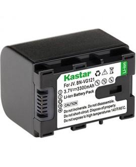 Kastar BNVG121 Battery 1X for JVC BN-VG138 BN-VG121 BN-VG121U BN-VG121US BN-VG114 BN-VG114U BN-VG114US BN-VG107 BN-VG107U BN-VG107US JVC GZ-E10 GZ-E100 GZ-E15 GZ-E200 GZ-E205 GZ-E208 GZ-E220 GZ-E225