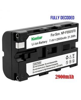 Kastar 1x Battery for Sony NP-F570 NP-F550 NP-F530 NP-F330 & CCD-RV100 RV200 CCD-SC5 CCD-SC9 CCD-TR1 CCD-TR215 CCD-TR940 CCD-TR917 Camcorder, CN-126 CN-160 CN-216 CN-304 YN 300 VL600 LED Video Light