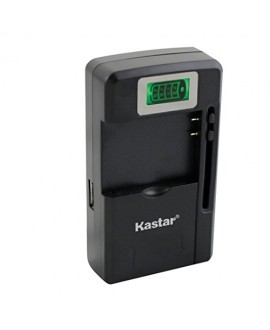 Kastar intelligent mini travel Charger(with high speed portable USB charge function) for Cell Phone PDA Camera Li-ion Battery/Digital cameras/Mp3 Mp4 players/Hand held gaming devices/PDAs Acer, Asus, Audiovox, BlackBerry, Casio, Dell, Garmin, Handspring,