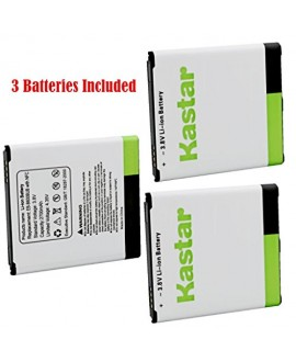 Kastar Galaxy S4 Battery (3-Pack with NFC) for amsung Galaxy S4, S IV, I9505, M919 (T-Mobile), I545 (Verizon), I337 (AT&T), L720 (Sprint), EB-B600BUB, EB-B600BUBESTA --Supper Fast and from USA