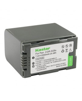 Kastar Battery 1 Pack for Panasonic CGR-D28 D28S CGR-D08 D08S CGR-D14 CGR-D16 D16S, CGR-D120 CGR-D210 CGR-D220 CGR-D320 & Panasonic AG Series, AJ-PCS060G, DZ-MX5000, NV Series, PV Series, VDR-M20