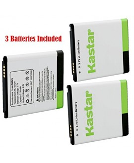 Kastar BL-53QH Battery (3-Pack) for LG P870 MS870 P769 / LG MS769 P880 VS930 / LG Escape P870 / LG Spirit 4G MS870 / LG Optimus L9 Optimus 4G P769 / LG Optimus L9 Optimus 4G MS769 / LG Optimus 4X HD P880 / LG Spectrum 2 VS930 Fit BL-53QH, EAC61898401--Sup