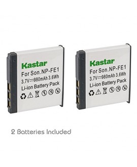 Kastar Battery 2-Pack for Sony NP-FE1 and Sony Cyber-shot DSC-T7 DSC-T7/B DSC-T7/S DSC-P2 DSC-P3 DSC-P5 DSC-P9 DSC-P7 Digital Camera