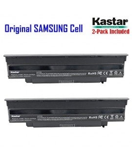 Kastar New Laptop Battery (2-Pack) for Dell Inspiron 13R (N3010) 14R (N4010) 14R (N4110) 15R (N5010) 17R (N7010) M5110 M4110 M501 M503 Series, Vostro 3450 3550 3550n 3750, Fits P/N J1KND 312-0234 383CW YXVK2 W7H3N J4XDH 9TCXN - [with Samsung Li-ion 6-cell