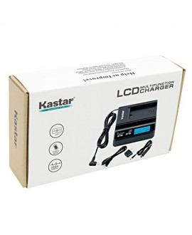 Kastar Fast Charger and BP-U96 Battery (3X) for Sony BP-U90 BP-U60 BP-U30 and PXW-FS7/FS5/X180 PMW-100/150/150P/160 PMW-200/300 PMW-EX1/EX1R PMW-EX3/EX3R PMW-EX160 PMW-EX260 PMW-EX280 PMW-F3/F3K/F3L