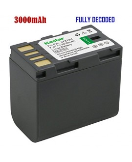 Kastar Battery (1-Pack) for JVC BN-VF823, BN-VF823U work with JVC Everio GS-TD1, GY-HM70U, GY-HM100U, GY-HM150U, GZ-HMZ1U, GZ-MG230, GZ-MG255, GZ-MG275, GZ-MG330, GZ-MG335, GZ-MG340, GZ-MG360, GZ-MG365, GZ-MG430, GZ-MG435, GZ-MG465, GZ-MG555, GZ-MG575, GZ