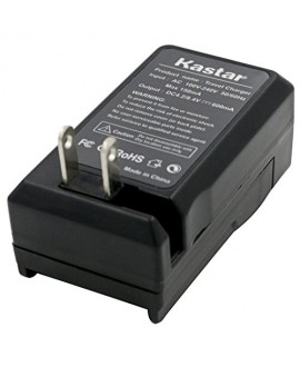 Kastar Travel Charger for Olympus Li-80B and Konica Minolta NP-900 work with Olympus T-100,t-110,x-36 and Konica Minolta DiMAGE E40, E50, KYOCERA EZ4033 etc. Cameras
