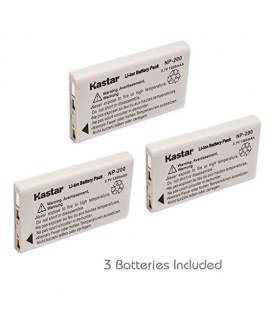 Kastar NP-200 Battery (3-Pack) for Konica Minolta Dimage X Dimage Xg Dimage X6 Dimage Xi Dimage Xt Dimage Xt Biz Cameras