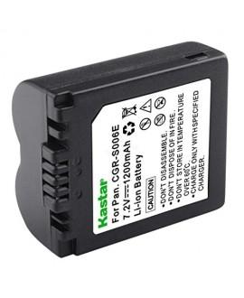 Kastar Battery 1 Pack for Panasonic CGR-S006, CGR-S006A1B, CGA-S006, DMW-BMA7 work with Panasonic Lumix DMC-FZ18, DMC-FZ28, DMC-FZ30, DMC-FZ35, DMC-FZ38, DMC-FZ50, DMC-FZ7, DMC-FZ8 Cameras