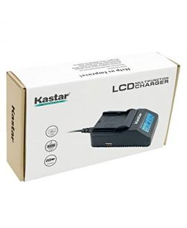 Kastar Ultra Fast Charger Kit for Sony NP-FH100 NP-FH70 TRV TRV-U and DCR Series DCR-DVD DCR-HC DCR-SR DCR-SX40 HDR-CX HDR-HC HDR-UX20 HDR-SR10 HDR-SR11 HDR-SR12 HDR-XR520V