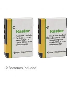 Kastar KLIC-7002 Battery (2-Pack) for Kodak EasyShare V530, EasyShare V530 Zoom, EasyShare V603, EasyShare V603 Zoom Cameras