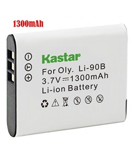 Kastar Battery (1-Pack) for Olympus LI-90B, LI-92B, UC-90 work with Olympus SH-1, SH-50 iHS, SH-60, SP-100, SP-100EE, Tough TG-1 iHS, Tough TG-2 iHS, Tough TG-3, XZ-2 iHS Cameras