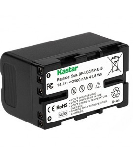Kastar BP-U30 Battery (1X) for Sony BP-U30 BP-U60 BP-U90 and PXW-FS7/FS5/X180 PMW-100/150/150P/160 PMW-200/300 PMW-EX1/EX1R PMW-EX3/EX3R PMW-EX160 PMW-EX260 PMW-EX280 PMW-F3 PMW-F3K PMW-F3L Camcorders