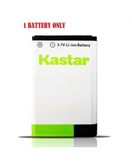 Kastar BL-5C Battery (1-Pack) for NOKIA 1100,2112,2270,2280,2285,2300,2600,2850,3100,3105,3120,3600,3620,3650,3660,5140,6108,6280,5030,5130,6030,6085,6086,6230,6230i,6267,6270,6555,6600,6630,6670,6680,6681,6820,6822,7600,7610,E50,E60,N70,N70 MusicEdition,