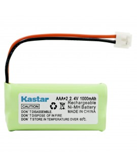 Kastar Battery Replacement for Clarity 50613.002 D603 D613 D613C D613HS D702 D702HS and Vtech BT-18433 BT-184342 BT-28433 BT-284342, AT&T BT-6010 BT-8000 BT-8001 BT-8300, Uniden BT-1011 BT-1018