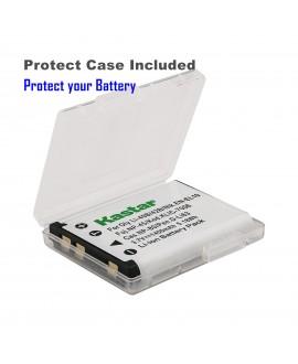 Kastar Battery (X2) & LCD Dual Charger for Olympus LI-42B LI-40B, Fujifilm NP-45, Nikon EN-EL10, Kodak KLIC-7006 K7006, Casio NP-80 CNP80, Pentax D-Li63, D-Li108, Ricoh DS-6365 Battery.