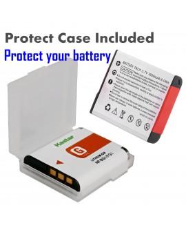Kastar 2x Battery + LTD2 USB Charger Replacement for Sony NP-BG1 NP-FG1 NPBG1 Cyber-Shot DSC-HX5V HX7V HX9V HX10V HX30V DSC-W120 W150 W220 DSC-H3 DSC-H7 DSC-H9 DSC-H10 DSC-H20 DSC-H50 DSC-H55 DSC-H70
