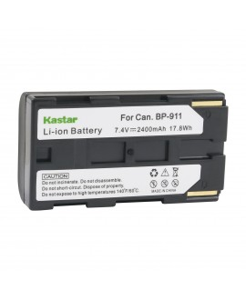 Kastar Camcorder Battery Replacement for Canon BP-911, BP-911K, BP-914, BP-915, BP-925, BP-930, BP-935, BP-945, BP-950