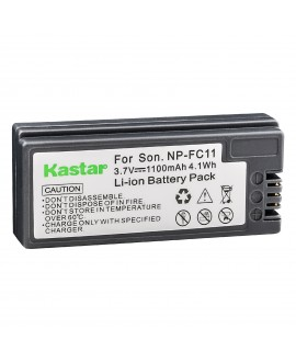 Kastar Battery (1-Pack) for Sony NP-FC11 NP-FC10 & Sony Cyber-shot DSC-P12 DSC-P10 DSC-P8 DSC-V1 DSC-P7 DSC-P5 DSC-P9 DSC-P3 DSC-F77 DSC-P10S DSC-FX77 DSC-P2 DSC-P10L DSC-P8L DSC-F77A DSC-P8S DSC-P8R