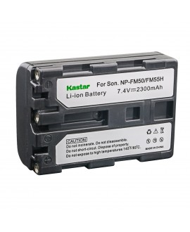 Kastar NPFM50 Battery (1-Pack) for Sony NP-FM30 NP-FM50 NP-FM51 NP-QM50 NP-QM51 NP-FM55H and CCD-TR DCR-PC DCR-TRV DCR-DVD DSR-PDX GV HVL Series Camcorder (detail models search in description)