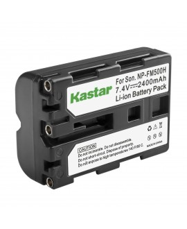 Kastar Camera Battery Replacement for Sony NP-FM500H Battery and Sony Alpha A850 A900 A57 A58 A65 SLT-A65 A68 SLT-A68 ILCA-68 A77 II SLT-A77 II ILCA-77M2 Alpha A99 II SLT-A99 II CLM-V55 Camera