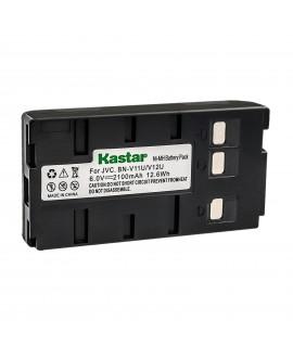 Kastar Battery Replacement for JVC BN-V11U BN-V12U, BN-V14U, BN-V15, BN-V18U, BN-V20, BN-V20U, BN-V20US, BN-V22, BN-V22U, BN-V24U, BN-V25, BN-V25U, BN-V65 VHS-C and BN-V400 BN-V400B BN-V400U…