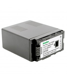 Kastar Battery (1-Pack) for Panasonic VW-VBG6 and Panasonic AG-AC7, AG-AC130A, AG-AC160A, AF100, HMC40, HMC70, HMC80, HMC150, HMC153, HMR10, HSC1U, HDC-DX1, DX3, HS9, HS20, HS100, HS200, HS250, HS300, HS350, HS700, MDH1, SD1, SD3, SD5, SD7, SD8, SD9, SD20