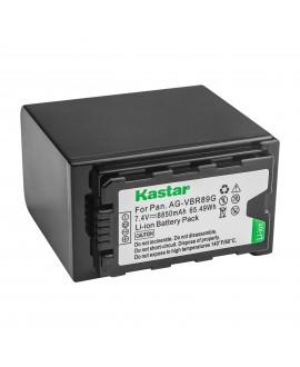 Kastar Battery 1 Pack for Panasonic AG-VBR89G AG-VBR89 AG-VBR59 AG-VBR118G AG-BRD50 AG-B23 & Panasonic AG-UX180 AG-UX90 AG-AC8 AG-AC90A AG-DVC30 AG-HVX201 AJ-PX230 AJ-PX270 AJ-PX298 AJ-PG50