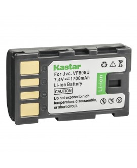 Kastar Battery Replacement for JVC Everio GZ-MG330 GZ-MG330AU GZ-MG330RU GZ-MG330HU Everio GZ-MS90 GZ-MS100 GZ-MS120 GZ-MS130 GZ-HD300 GZ-HD320 GZ-HM1 GZ-HM200 GZ-HM400 GR-DA30 HD Camcorder