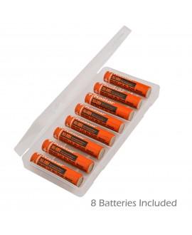 Kastar 8Pcs AAA Rechargeable NI-MH Battery Replacement for Panasonic HHR-65AAABU HHR-55AAABU HHR-4DPA/4B, Panasonic Cordless Phone KX-TG1031 KX-TG1211 KX-TG4011 KX-TG6411 KX-TG9031 KX-TGA101 and More