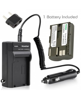 Kastar Battery and Charger for Canon CG-580 BP-511 BP-512 511A FV300 FV40 FVM1 FVM10 IXY DVM MVX1i MVX2i MVX3i MV300i MV400i MV450i MV500i MV530i MV550i MV600i MV630i MV650i MV700i MV730i MV750i