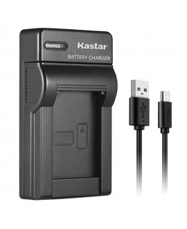 Kastar Slim USB Charger for Canon LP-E10, LC-E10 and Canon EOS 1100D, EOS 1200D, EOS Rebel T3, EOS Rebel T5, EOS Kiss X50, EOS Kiss X70 DSLR Camera & Canon LPE10 Grip