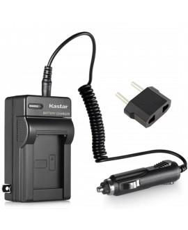 Kastar Battery Charger Kit for Panasonic CGA-S008 DMW-BCE10 VW-VBJ10 DB-70 BP-DC6 and DMC-FX37 DMC-FX38 DMC-FX55 DMC-FX500 DMC-FX520 HM-TA1 SDR-S15 SDR-S20 SDR-S25 SDR-S26 SDR-SW20 SDR-SW21 SDR-SW28