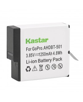 Kastar Battery (1-Pack) for GoPro HERO5, Hero 5 Black, Gopro5 and GoPro AHDBT-501, AHBBP-501 Sport Camera (Compatible with Firmware v01.57, v01.55 and Future Update)