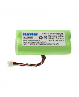 Kastar 6-PACK AAA 3.6V 1000mAh Ni-MH Rechargeable Battery Replacement for Motorola Symbol 82-67705-01 Symbol LS-4278 LS4278-M BTRY-LS42RAAOE-01 DS-6878 Cordless Bluetooth Laser Barcode Scanner