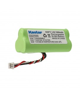 Kastar 1-PACK AAA 3.6V 1000mAh Ni-MH Rechargeable Battery Replacement for Zebra/Motorola Symbol 82-67705-01 Symbol LS-4278 LS4278-M BTRY-LS42RAAOE-01 DS-6878 Cordless Bluetooth Laser Barcode Scanner