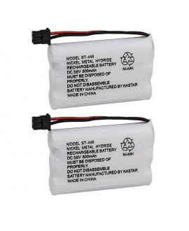 Kastar 2-Pack BT-446 Cordless Phone Battery Replacement for Uniden BT446 BP-446 BP446 BT-1005 BT1005 Battery and TRU8885 TRU8885-2 TRU88852 TRU8888 TRU9460 TRU9465 TRU9480 TCX-800 Cordless Phone