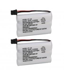 Kastar 2-Pack BT-446 Cordless Phone Battery Replacement for Uniden BT446 BP-446 BP446 BT-1005 BT1005 Battery and TRU8885 TRU8885-2 TRU88852 TRU8888 TRU9460 TRU9465 TRU9480 TCX-800 Cordless Phone