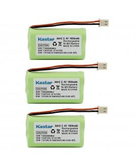 Kastar 3 Pack 2.4V 1600mAh Cordless Phone Battery Replacement for Vtech BT175242 BT275242 89-1341-00-00 CS6128 Sony BP-T50 BPT50 Presidian 43271 43-271 Empire CPB-472J CPB472J AT&T 50 91301